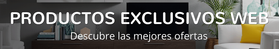Productos exclusivos web